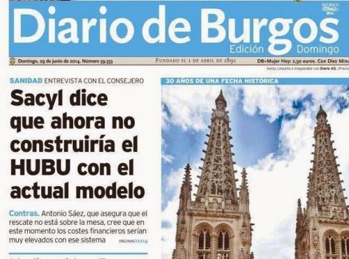 El HUBU acabará llevándose por delante a altos cargos de la Junta de Castilla y León.