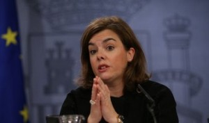 La vicepresidenta, Sáenz de Santamaría, sin atreverse a anunciar de dónde se recortarán los 2.162 millones de euros.