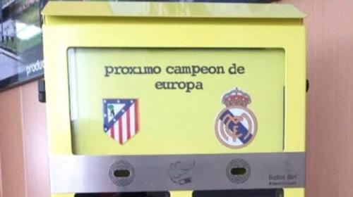 Ejemplar de buzón instalado en Madrid.