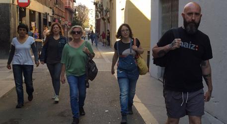 Integrantes de la CUP, reconocidos antisistema y terroristas sociales en Cataluña.