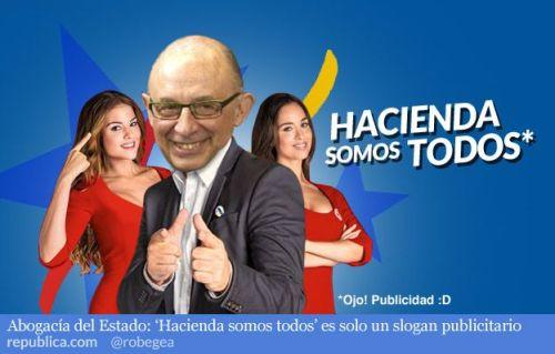 Cristóbal Montoro, todavía ministro de Hacienda y Administraciones Públicas.