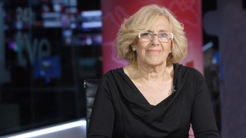 Manuela Carmena, actual alcaldesa de Madrid.