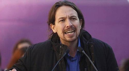 Pablo Manuel, líder corrupto de 'Podemos'. Implicado, además, en sucios dineros del 'imperio' bolivariano.