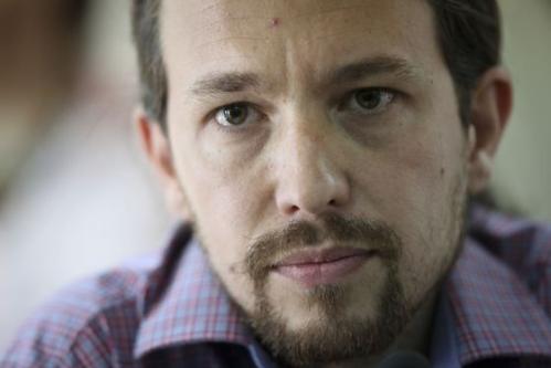 Pablo Manuel 'Mezquitas', comunista provenezolano y cabeza visible de 'Podemos' en España.