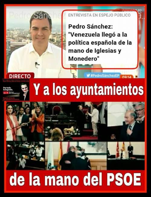 Pedro Sánchez, prototipo del mentiroso que pretende llegar al poder a toda costa.