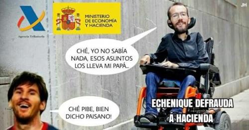 Pablo Echenique en estado puro y duro.