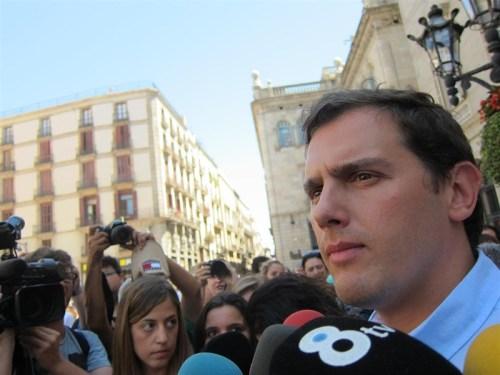 Alberto rivera, líder de la formación de Ciudadanos.