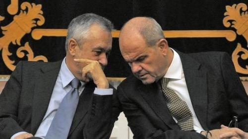 Griñán y Chaves, expresidentes de la Junta de Andalucía e implicados en el caso clientelar de los ERE.