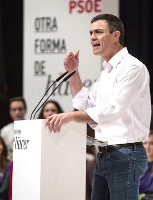 """El """"señor NO"""", principal artífice del fracaso de la política socialista y del hundimiento del PSOE."""