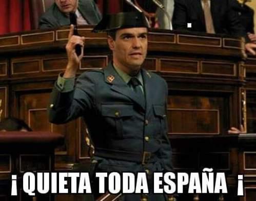 Pedro Sánchez, líder del PSOE y 'golpìsta' contra España.