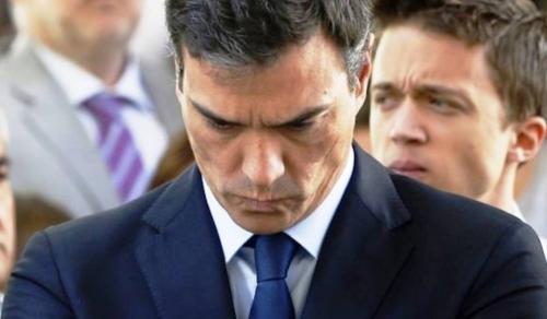 Pedro Sánchez, insulta al pueblo gallego tras la frustración por haber perdido las elecciones.