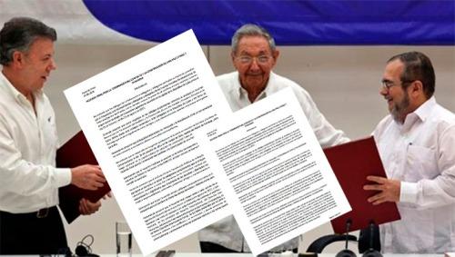 Acuerdo de paz fallido en Colombia