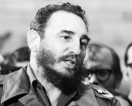 Fidel Castro, dictador comunista cubano hasta noviembre de 2016.