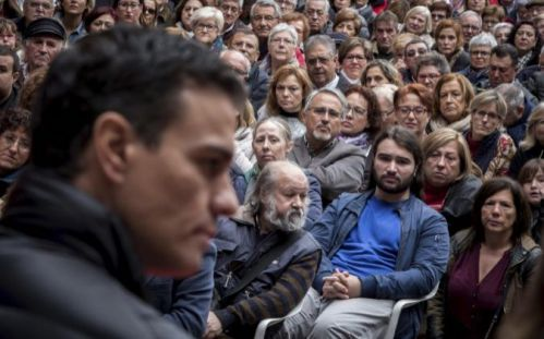 Pedro Sánchez, exsecretario general del PSOE y principal daño de la formación política.