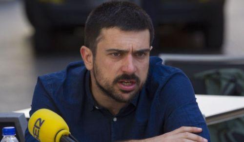"""Ramçón Espinar, conocido como """"muñeco gruñón"""" en las filas de Podemos. Atrapado por la corrupción en VPO."""