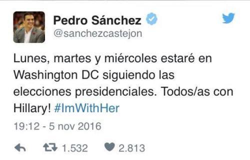Mensaje de 'Pedroflauta', el mayor gafe de la Historia de España tras Rodríguez Zapatero.