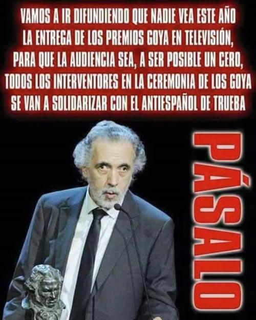 Fernando Trueba, el antiespañol que renunció voluntariamente a ser español y despreció los símbolos nacionales.