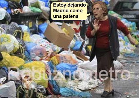 Manuela Carmena, ejemplo de mala gestión y peor control del Ayuntamiento de Madrid.