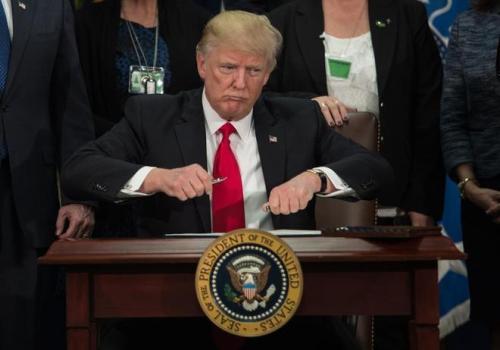Donald Trump, actual presidente de los EE.UU.