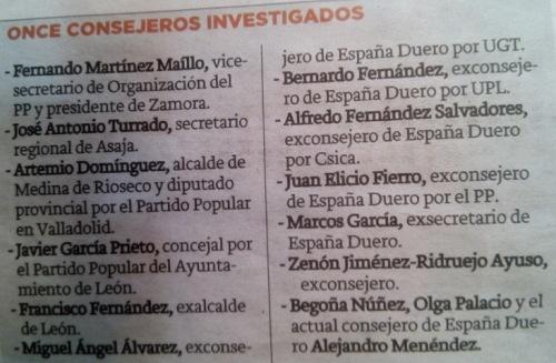 La Justicia sigue estirando la cuerda de la fraudulenta Caja España-Duero.