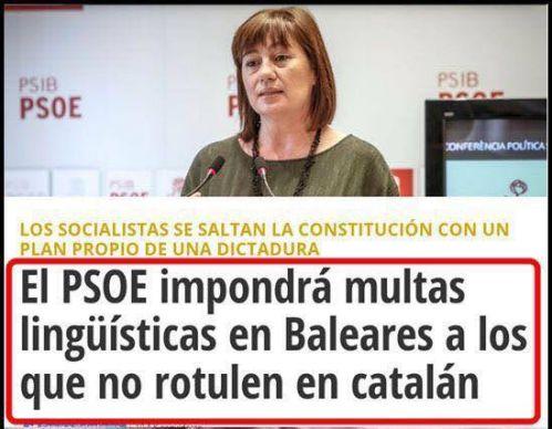 Por razones históricas y por la propia deformación, el PSOE siempre suele estar donde no debe y hacer lo contrario de cuanto marcan la lógica y el sentido común.