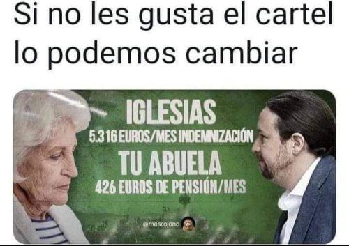CartelIglesias